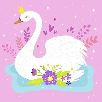 Swan prinses concept