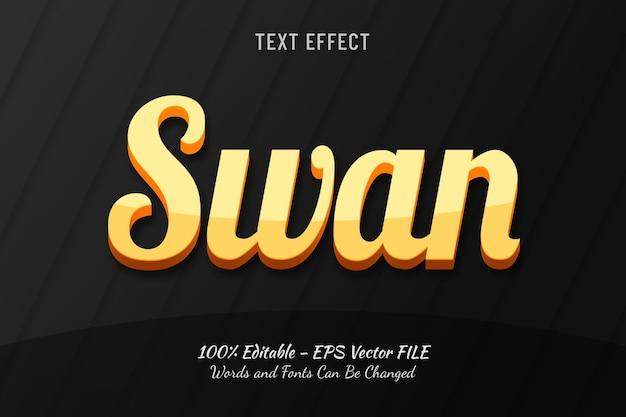Swan teksteffect