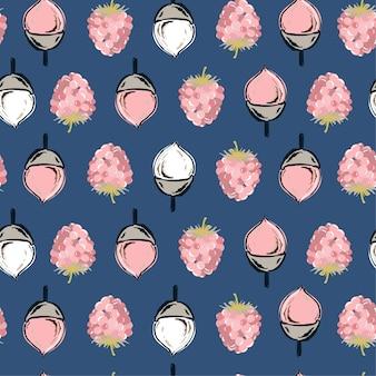 Sweet herfst naadloze patroon