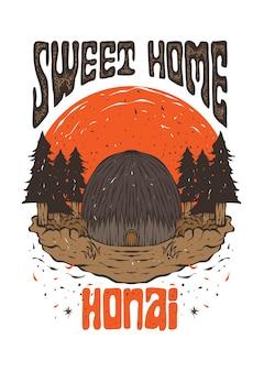 Sweet home papoea