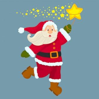 Sweet santa sterren vangen