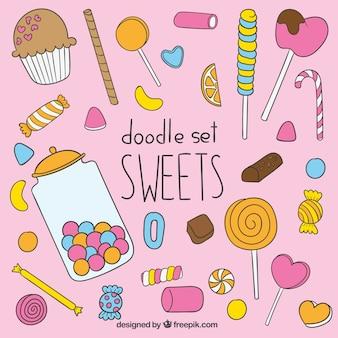 Sweets illustratie