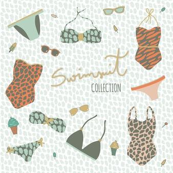 Swimsuit collectie ontwerp