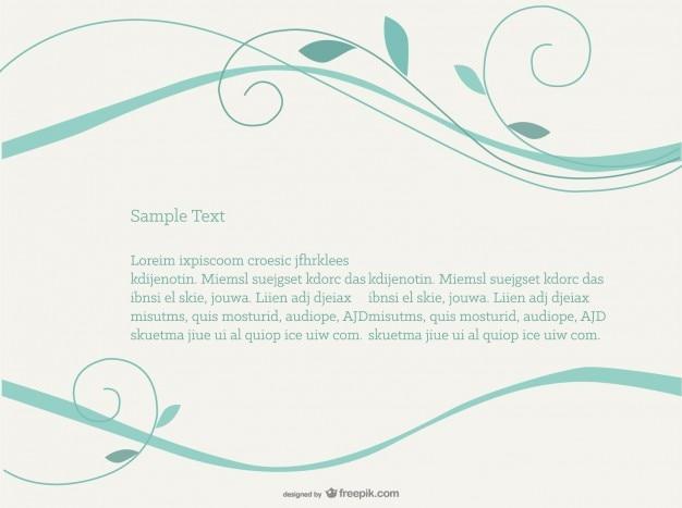 Swirly gratis vector achtergrond eenvoudig ontwerp