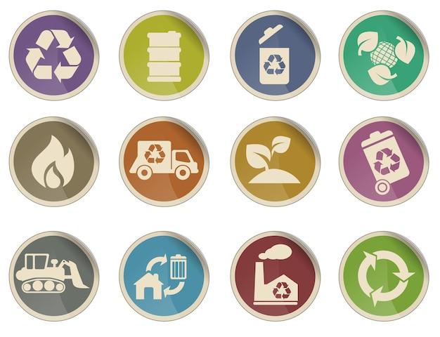 Symbolen recyclen