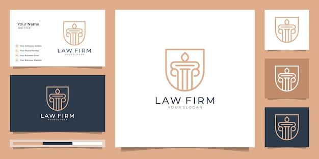 Symbool van de wet van premierechtspraak. advocatenkantoor, advocatenkantoren