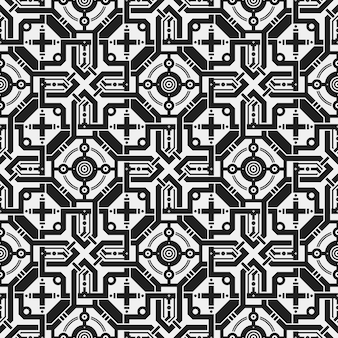 Symmetrische kruis patroon achtergrond