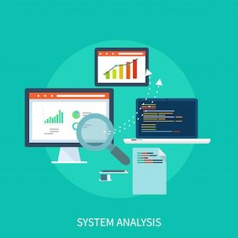 Systeem analyse ontwerpconcept