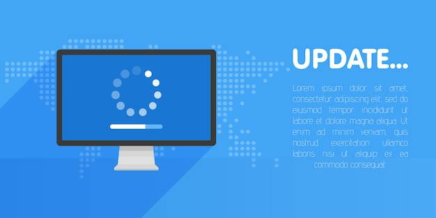 Systeemsoftware-update en upgradesjabloon