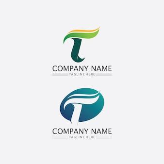 T brief, t logo vector lettertype alfabet ontwerp en pictogram t