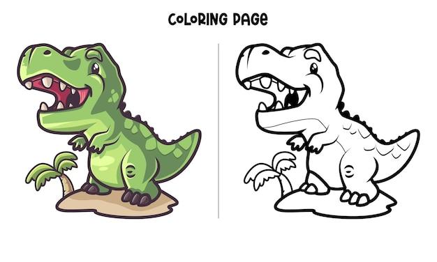 T-rex-eiland