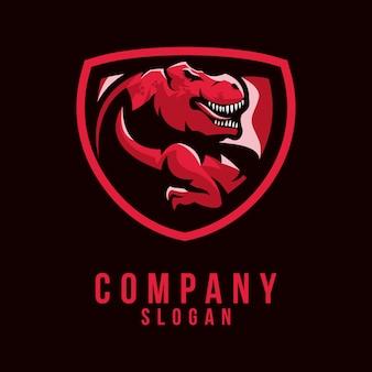 T-rex logo ontwerp