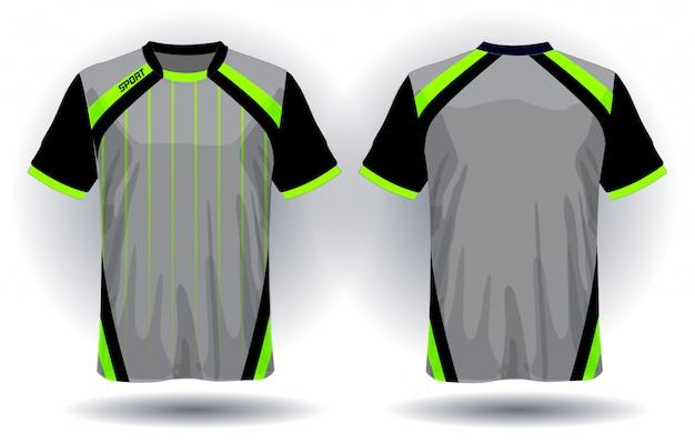 T-shirt design van voetbal jersey sport.