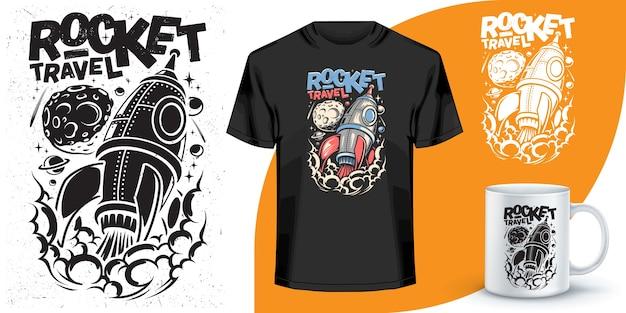 T-shirt en koffiemok ontwerp