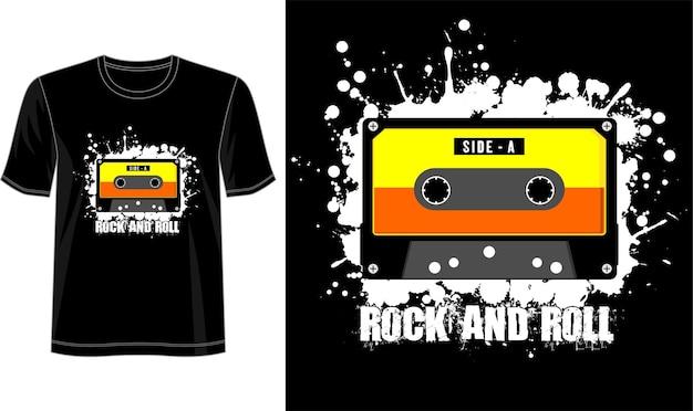 T-shirt ontwerpsjabloon