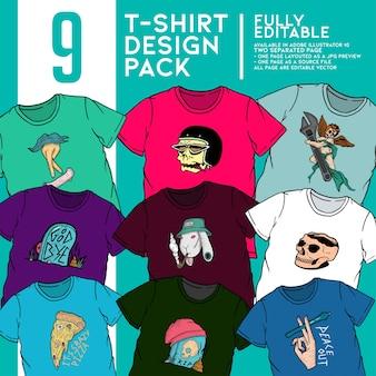 T-shirt pakket