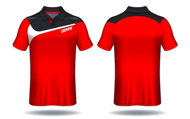 T-shirt polo ontwerp