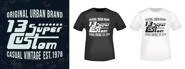 T-shirt printontwerp