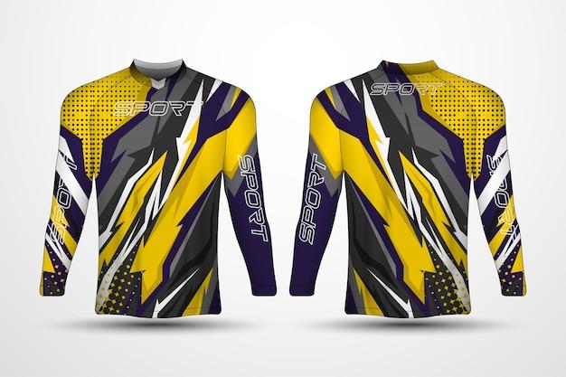 T-shirt sjabloon, race sport jersey