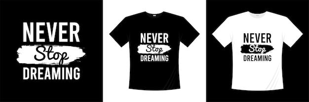 T-shirtontwerp motiverende citaten
