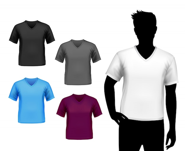 T-shirts mannelijke set