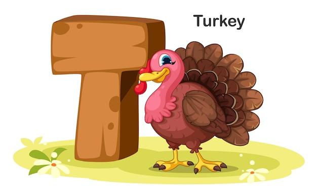 T voor turkije
