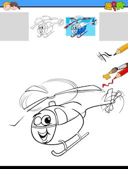 Taak voor tekenen en kleuren