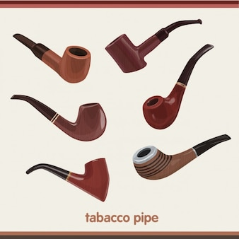 Tabak pipes collection
