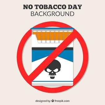 Tabaksverpakking achtergrond