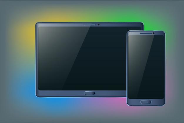 Tablet en smartphone
