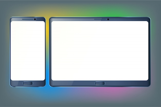 Tablet en telefoon