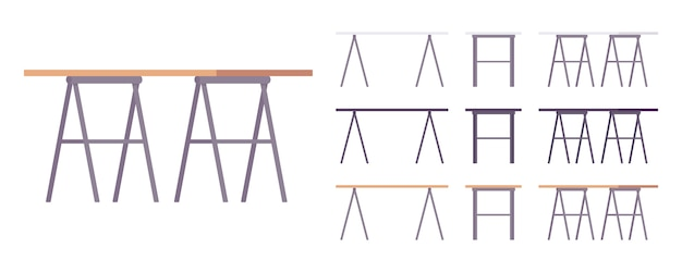 Tafel meubels set