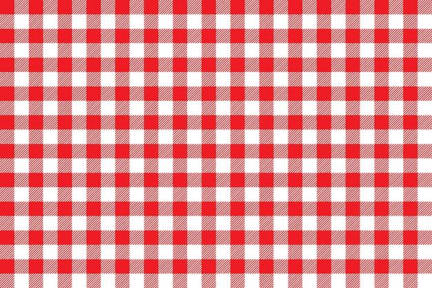 Tafelkleed rood naadloos patroon als achtergrond