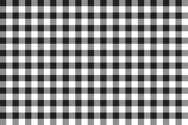 Tafelkleed zwart naadloos patroon als achtergrond