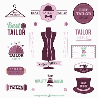 Tailor logo's en badges