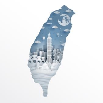 Taipei kaart