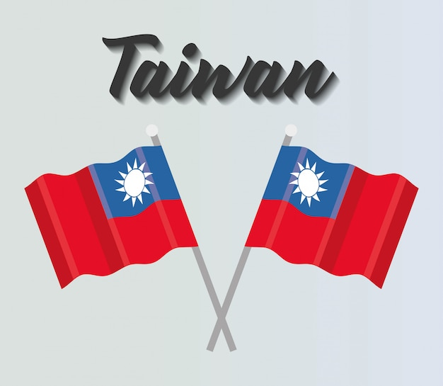 Taiwan vlaggen