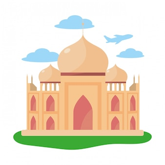 Taj mahal pictogram