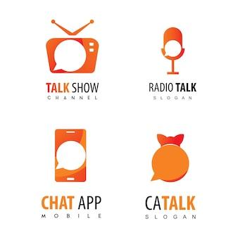 Talk logo podcast