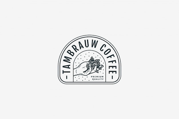 Tambrauw coffee premium quality coffee bw