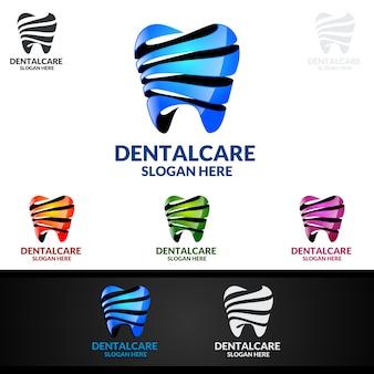 Tandembleem, het stomatologieembleem van de tandarts