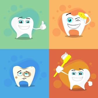 Tanden dental health care set collection