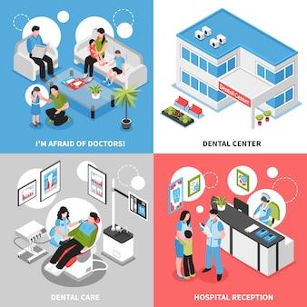 Tandheelkundig centrum isometrisch