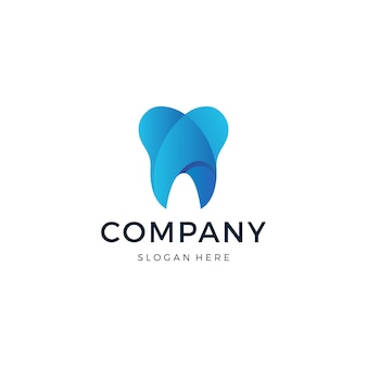 Tandheelkundig logo ontwerp