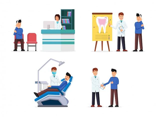 Tandheelkundige kliniek interieur
