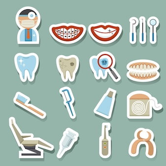 Tandheelkundige pictogrammen