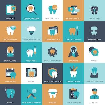 Tandheelkundige zorg set