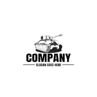 Tank legerlogo, militair logo