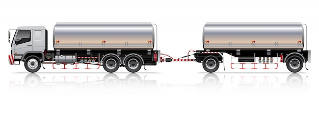 Tankwagen illustratie