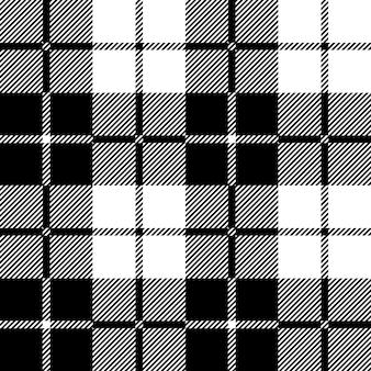 Tartan geruite naadloze patroon